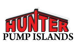 Hunter Pump Island Logo