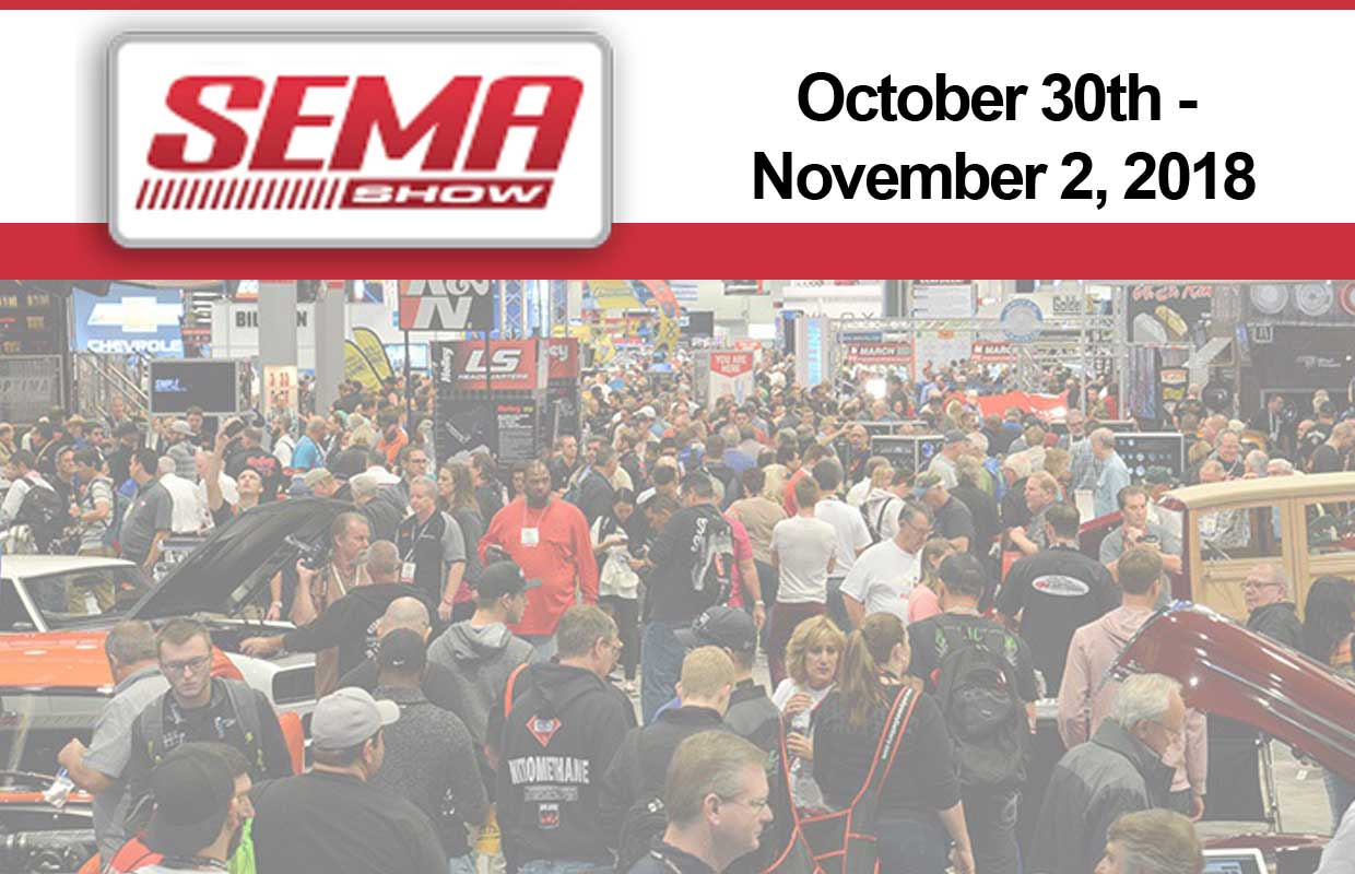 Walsh, Long & Company is going to the 2018 SEMA Show