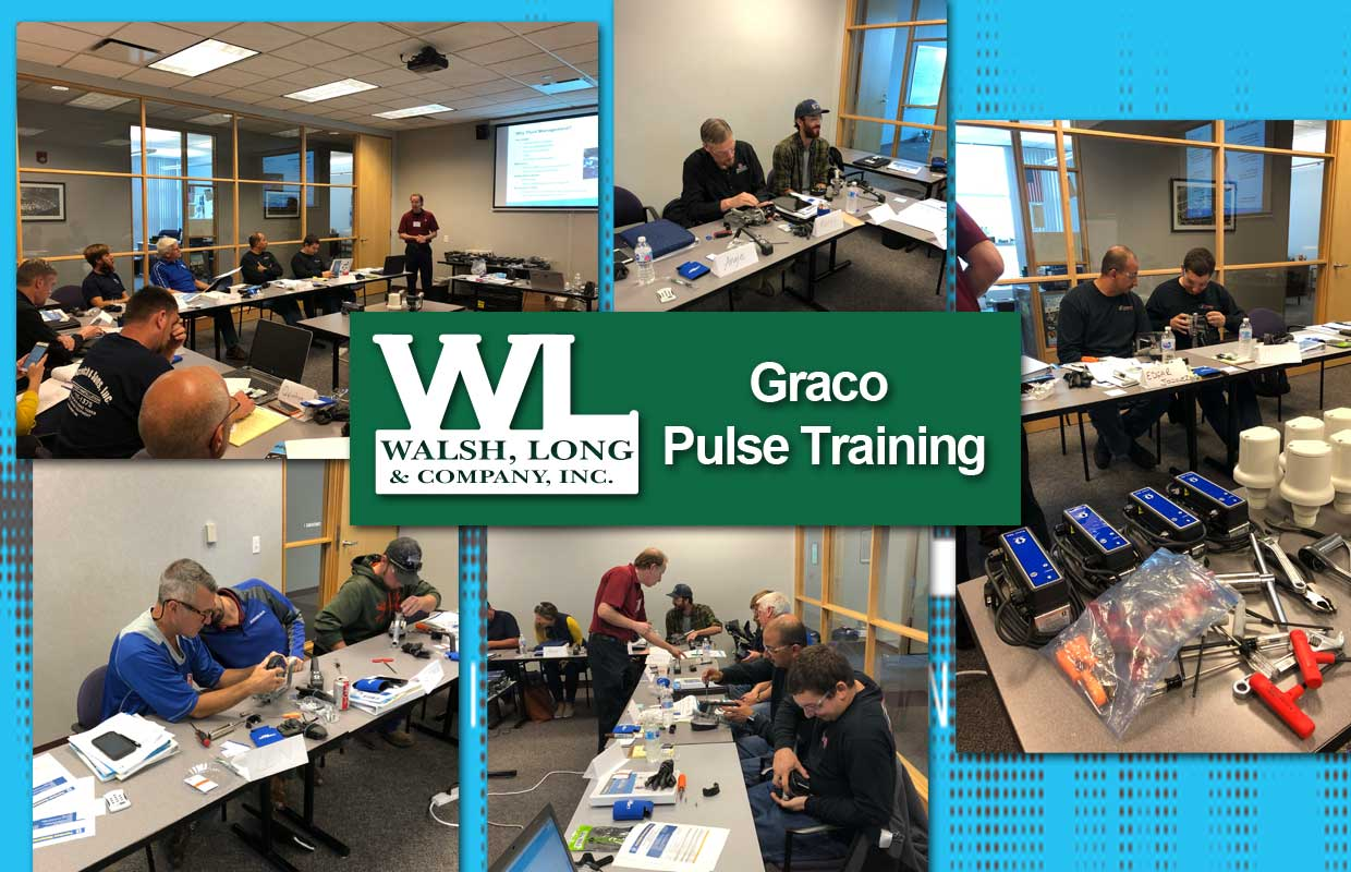 Walsh, Long hosted Graco Pulse Training!