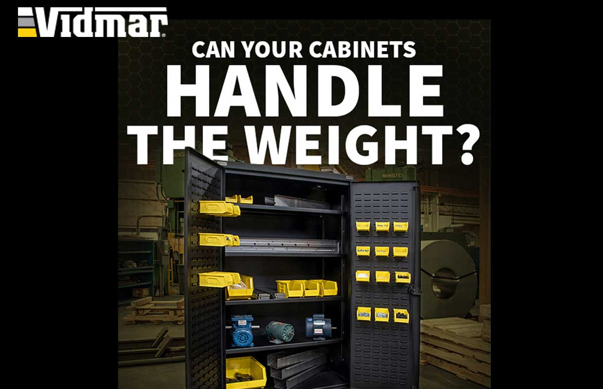 Introducing the Vidmar® Heavy Duty Cabinet