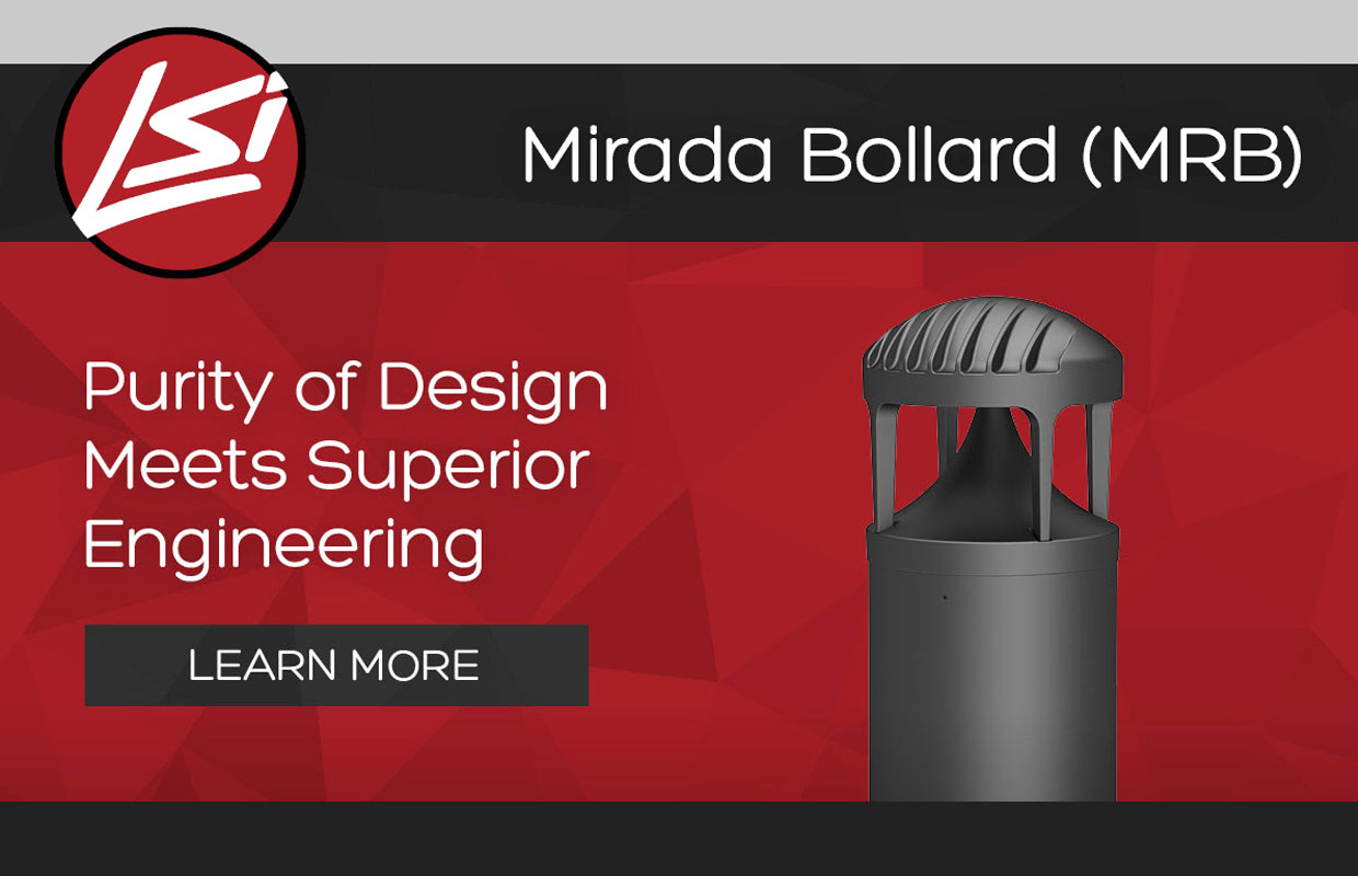 LSI Mirada LED Bollard – Superior Engineering