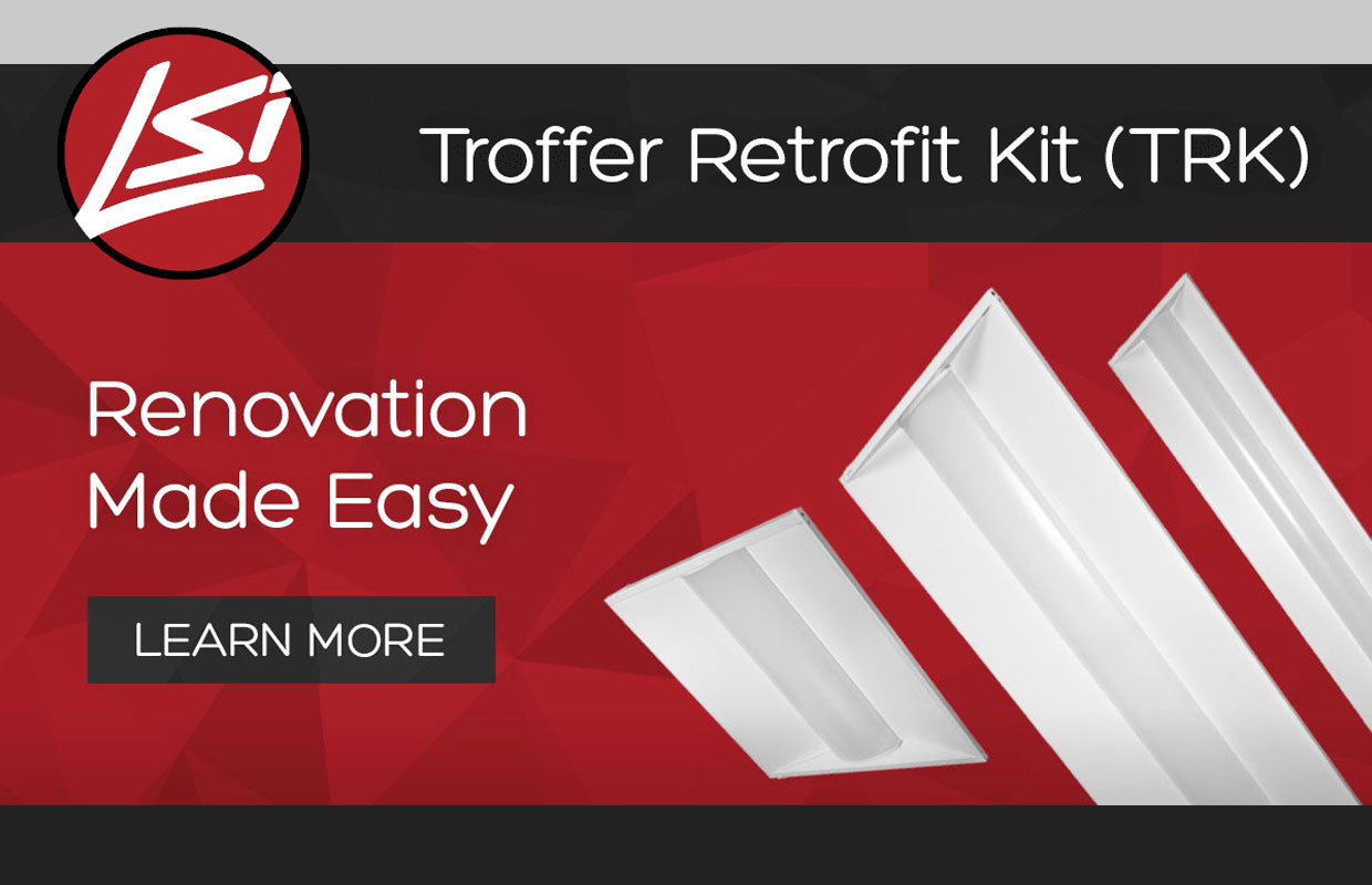 LSI LED Troffer Retrofit Kit – Renovation Made Easy