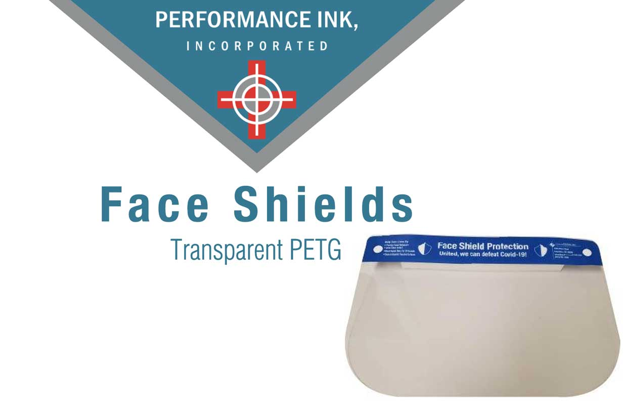 Face Shields from Performance Ink