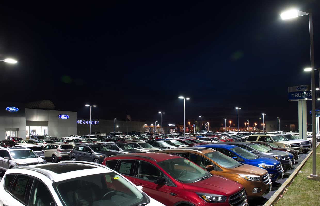 Riverview Ford LSI Automotive Lighting Project